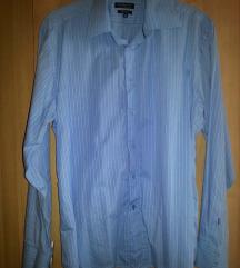 Világoskék férfi ing 42-43 slim