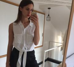 H&M elől megkötős fehér blúz