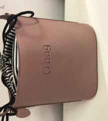 Obag táska mályva színű