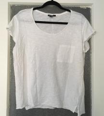 MANGO BASICS fehér pamut póló XL 44 46