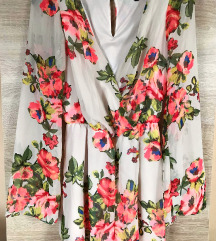 New Look gyönyörű virágos overall (csere is)