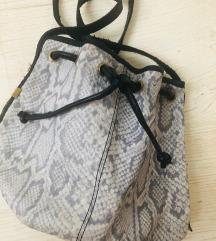 RIVER ISLAND Valódi bőr bucket táska