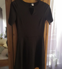 H&M fekete ruha lbd XS