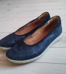 Új sötétkék bőr hartjes átmeneti cipő
