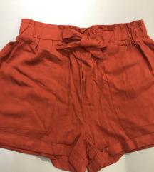 Tégla színű masnis short