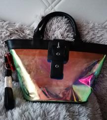 Áttetsző holografikus táska (ÚJ)