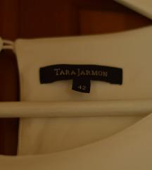 TARA JARMON fehér midiruha