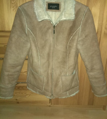 Női irha kabát-vintage