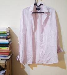 goldenland rózsaszín csíkos férfi ing 40