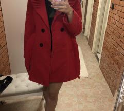 Piros télikabát