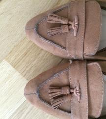 Next- Barna lapostalpú cipő