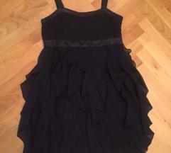Gyönyörű fekete muszlin ruha lány