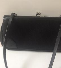 DKny bőr és canvas kis estélyi táska