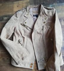 Mango valódi bőr kabát dzseki