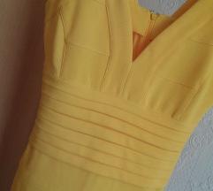 Sárga alakformáló ruha
