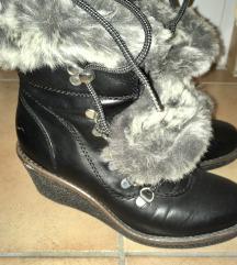 platform bőr cipő, bakancs