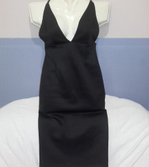 Mylove fekete streccses ruha,s-m,új
