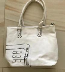 Fehér pakolós táska
