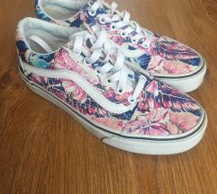Vans virágos old school cipő
