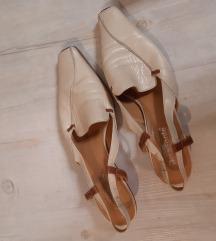 Bőr cipő 40-es méretben