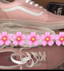 ÚJ Vans púderrózsaszín Old Skool cipő 38.5