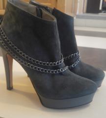 Bőr alkalmi női cipő