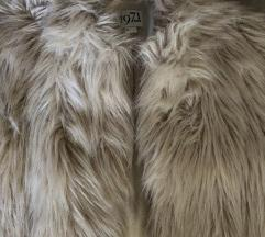 Reiss Jillis Faux Fur jacket téli luxus 100000.-