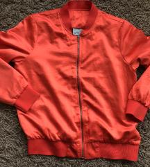 Vero moda narancspiros szatén kabát 38-as