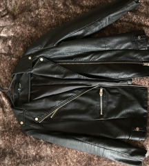 H&M-es fekete bőrdzseki