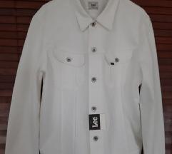 Új farmerdzseki fehér Lee eladó! 06303383765