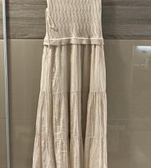Olasz, horgolt felsőrészű, nyári ruha S/M