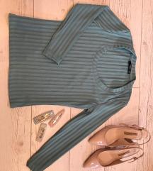 Mango türkiz kék/zöld felső