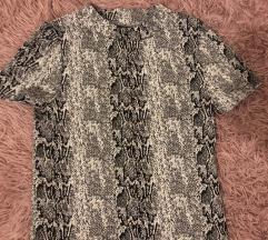 Kígyóbőr mintás póló