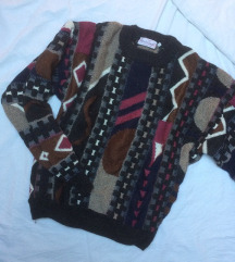 Oversized vastag téli mintás/színes pulóver