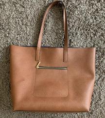 H&M barna nagy pakolos táska elegáns