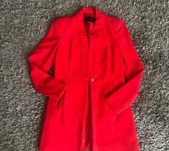 Zara álló gallérú átmeneti kabát