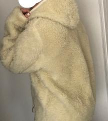 LEÁRAZVA! Kapucnis teddy coat