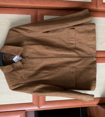 Női barna vintage dzseki új