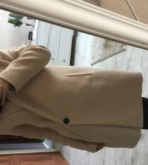 Zara púder színű szövetkabát