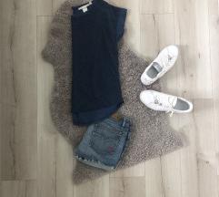 H&M kék póló