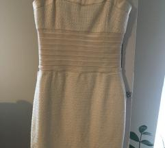 Nude/törtfehér Bebe ruha