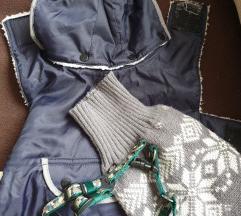 Kutya kabát ruha és hám