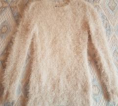 Fluffy, fémszálas kötött pulcsi