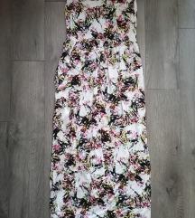 Amisu virágos maxi ruha