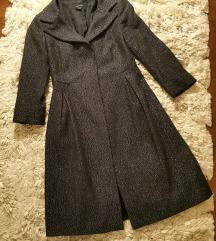 Zara elegáns gyapjú kabát XS S
