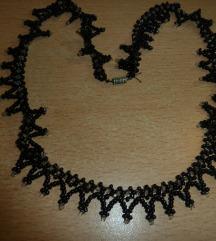 Fekete gyöngy nyaklánc