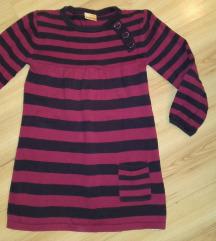 Csíkos kötött kislány ruha Cherokee 5-6évesre