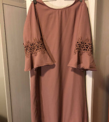 Mályva színű ruha (34) - 2000 Ft