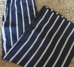 Csíkos culottes nadrág