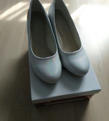 AKCIÓ! Új, fehér alkalmi cipő (35)
